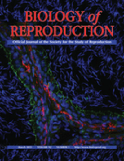 """Biology of Reproduction (Журнал """"Биология размножения"""")"""