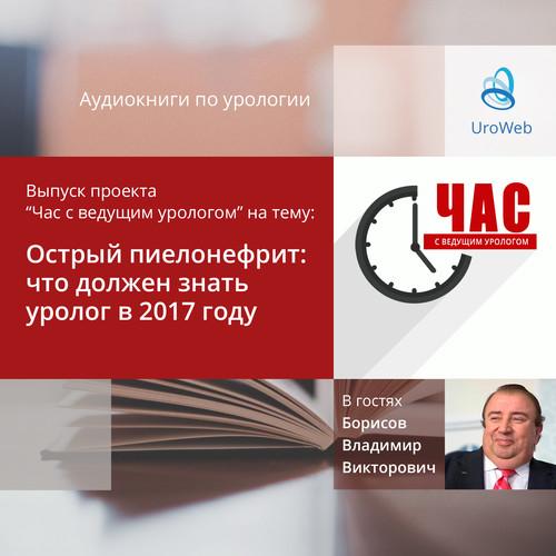Борисов В.В. - Острый пиелонефрит. Что должен знать уролог в 2017 году