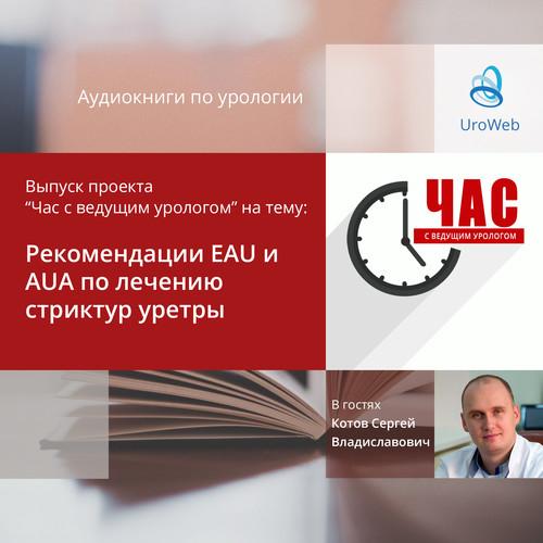Котов С.В, - Рекомендации EAU и AUA по лечению стриктур уретры