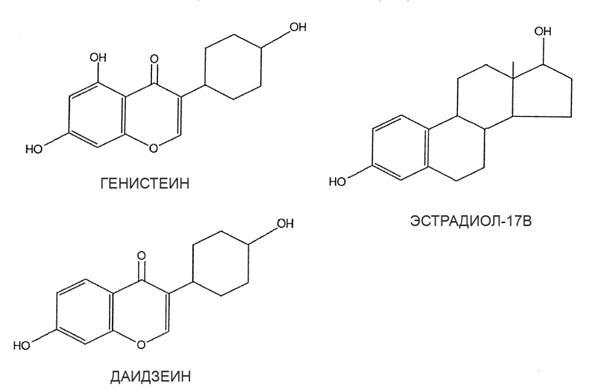 Химическая структура наиболее