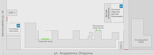 Схема проезда к центру здоровья детей